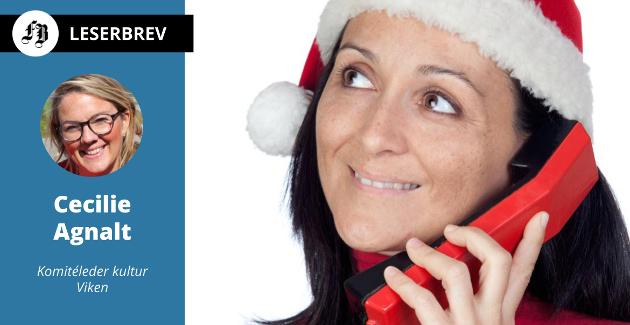 Julesammenkomster blir vanskelig i år. En telefon kan være det som gir følelse av å høre til et fellesskap.