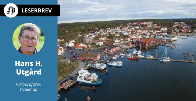 – De rødgrønne på Hvaler gjør det ved å sikre at inntektene øker i takt med kostnadsutviklingen, skriver Utgård om eiendomsskatten.