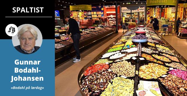 «Prisfest», heter det på plakatene i den svenske butikken. Hvor mye slår avgiftsreduksjonen ut i et land som i 2018 hadde Europas høyeste matvarepriser?