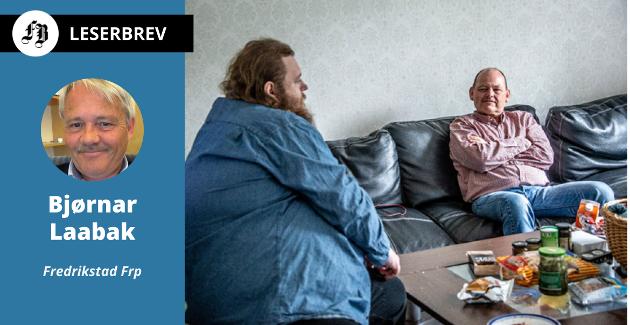 Svein Bergstrøm og hans psykisk syke sønn Jostein som ikke får botilbud i hjemkommunen.