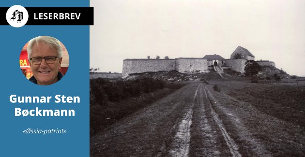 Historisk bilde av Kongstesn fort. Gunnar Sten Bøckmann mener fortry vil komme mer til sin rett gjennom den videreutviklingen av Aktivtetsbyen Gamle Fredrikstad som han og familien ivrer for.