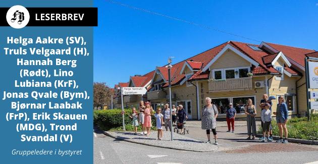 Videreutvikling av Gressvik sentrum pekes ut som en type oppgave der det kan passe å engasjere et oppgaveutvalg.