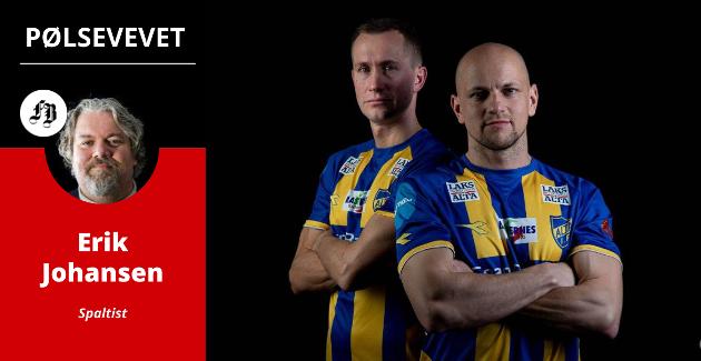 Morten Gamst Pedersen (39) og Hans Norbye (33) er klare for stadion.