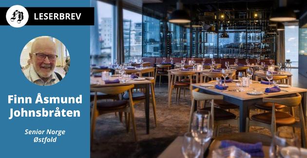 Finn Åsmund Johnsbråten anklaget i et tidligere innlegg restaurant Delicatessen for å diskriminere kunder uten smarttelefon. Han fikk støtte av Pensjonistforbundet, men mener forbundet ikke går langt nok i sin kritikk.