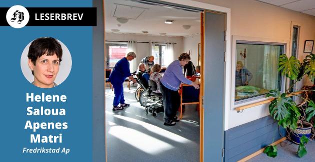 – Sykehjem alene løser ikke behovet i Fredrikstad kommune. Vi har behov for svært sammensatte helse- og velferdstjenester allerede i dag, og særlig frem mot 2040.