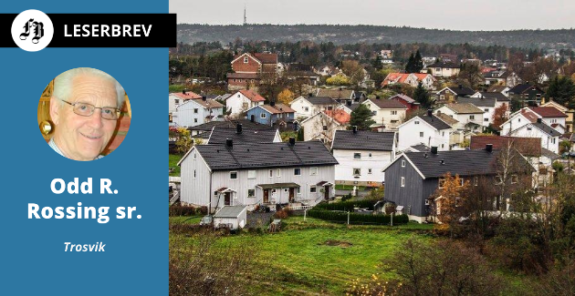 – Det betyr at kommunen tar inn skatt to ganger for samme eiendom, skriver Rossing om leietomter.