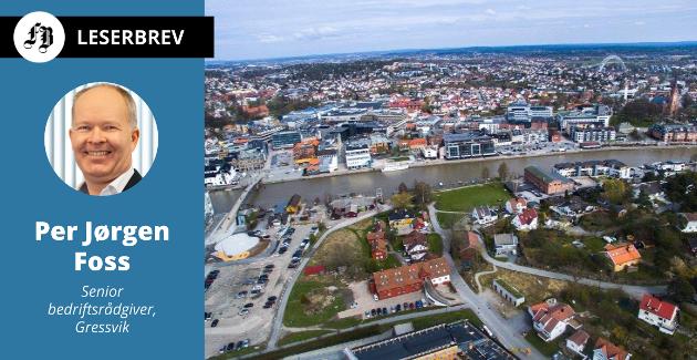 – Nå er vel ikke antall mennesker i seg selv så viktig, men når man bor i en av landets ti største byer, så kan man normalt forvente enklere tilgang til for eksempel offentlig tjenestetilbud, skriver Per Jørgen Foss.