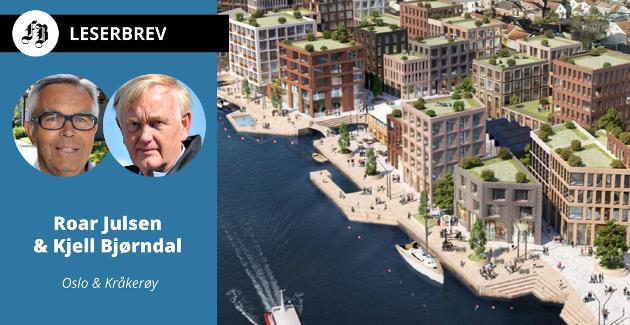 Kommunalt eide Isegran Eiendom skal sammen med Cityplan bygge ut en ny bydel på Trosvikstranda. – Mistanken om uheldig samrøre allerede reist, heter det i innlegget.
