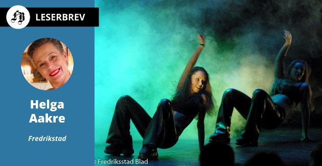 Helga Aakre heier på deg som savner å være på en fritidsaktivitet. Illustrasjonsfotoet viser danseoppvisning med Millenium Danseteam på Røde Mølle i 2001.