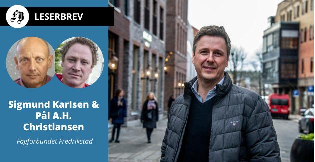 Isegran Eiendom-direktør Arild Mortensen er leder for et selskap som bør få en helt annen rolle enn det har i dag, ifølge Karlsen og Christiansen.