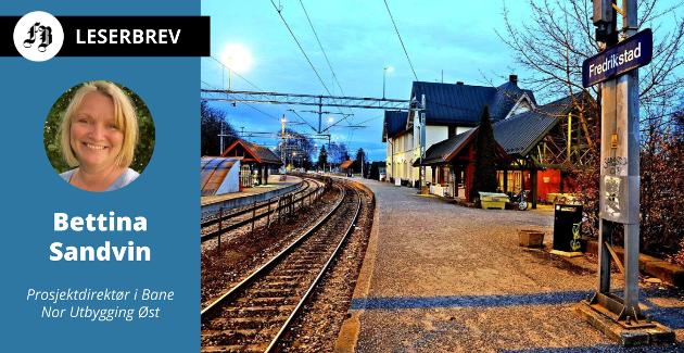 Bane Nor planlegger for utbygging av jernbanen mellom Råde og Fredrikstad og oppgradering av Fredrikstad stasjon. Da stilles også spørsmålet om slik oppgradering er nødvendig.