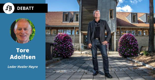 – Høyres opplevelse er at signalene politikerne ga til rådmannen om økonomien ikke ble lyttet til. Men ikke gi rådmannen skylda for økningen i eiendomsskatten! lyder Hvaler Høyres forsvar for Dag Willien Eriksen.