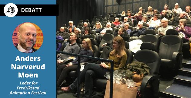 Narverud Moens frykt: – Dessverre kan man se for seg at Høyre, med Frp og Venstre på slep, sier selg hele greia, mens Ap med flere ser Fredrikstad Kino som en god pengegris for å spe på med frie midler i et tynt kommunebudsjett.