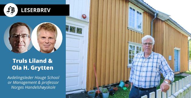 Svein Høiden er en av de frivillige ildsjeler som i dag restaurerer Hauges fødested og museum på Rolvsøy. Kronikkforfatterne mener Norge som samfunn bør gjøre dette i forbindelse med årets jubileum.