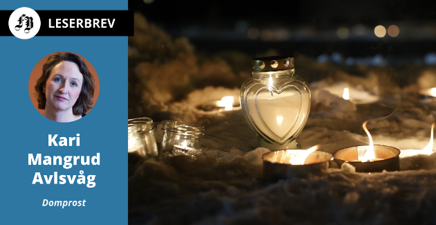 – Midt i alt som skremmer, midt i alt som tynger, midt i sorgen, finnes alltid tegn til håp, skriver domprost Kari Mangrud Alvsvåg i sin nyttårshilsen. Bilde fra rasområdet i Gjerdrum.