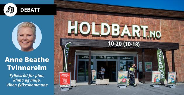 Holdbart på Råbekken er – i denne omgang – stridens kjerne, mens partene som må løse den, ifølge fylkesråden, er Fredrikstad kommune og Vikens fylkeskommune.