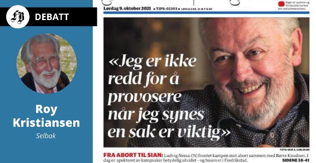 Forsiden i Fredriksstad Blad lørdag.