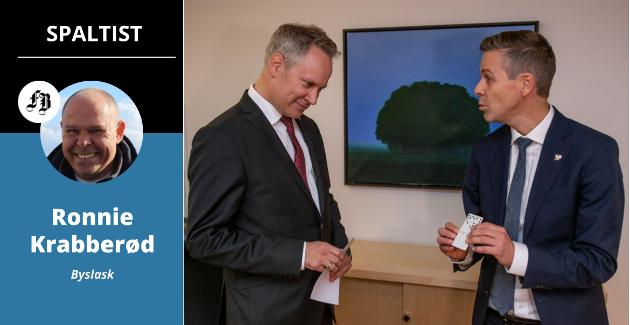 Nå når Jon-Ivar Nygård har tatt over som samferdselsminister etter Knut Arild Hareide må han finne 30-50 milliarder for ikke å møte seg sjøl i svingdøra.
