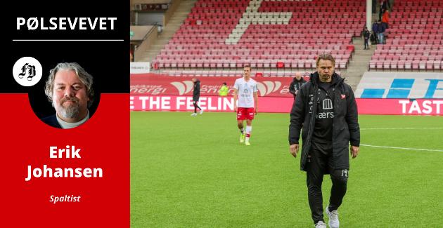 Bjørn «Bummen» Johansen måtte fortvile over en haug brente FFK-sjanser mot Raufoss.