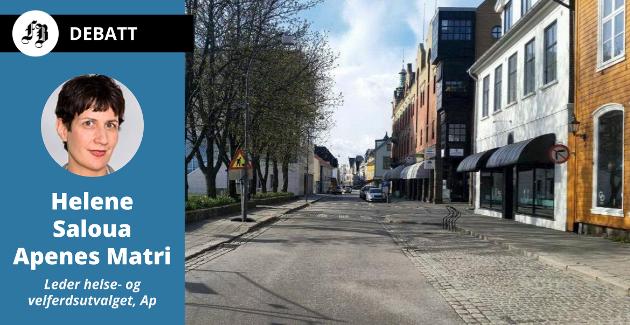 Ingen ønsker et Fredrikstad der gatene er stille fordi folk er beordrer til å holde seg inne.  Apenes Matris oppskrift på å unngå det er: «Hold avstand, hold sammen, hold ut!»