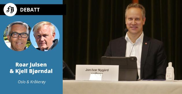 Ordfører Jon-Ivar Nygård utfordres til å svare på fem spørsmål om opprettelsen av kommunens eiendomsselskap Isegran Eiendom.