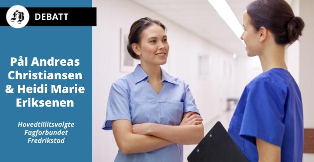 Det er rift om sykepleiere. Vikarbyråer betaler over tariff, ifølge en utlysningstekst brevforfatterne viser til.