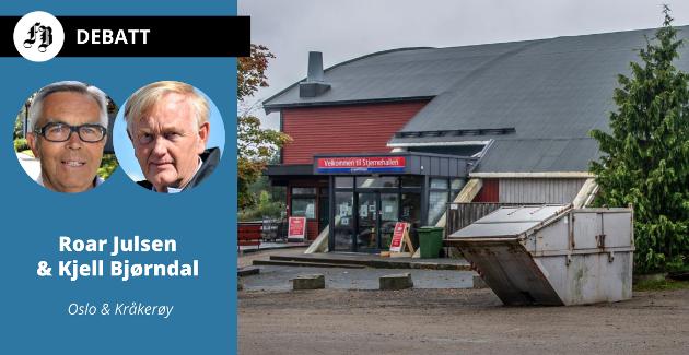 Brevforfatterne leser ordførerens svar dithen at Stjernen Hockey er «far» til det kommunale eiendomsselskapet Isegran Eiendom.