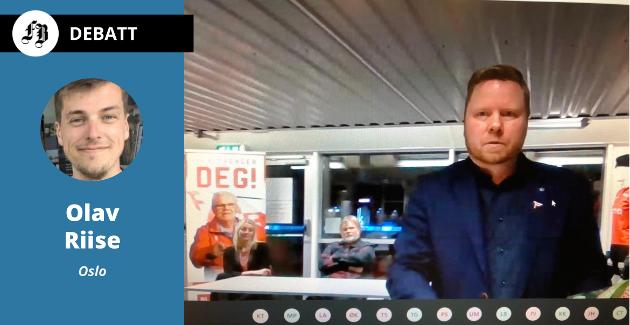 Styreleder Jostein Lunde i FFK under klubben heldigitale årsmøte 25.11.20. Han og klubben blir utfordret til å «markere et standpunkt selv om treningsleir i Dubai og sponsoravtaler med lignende stater kan virke langt unna i dag».