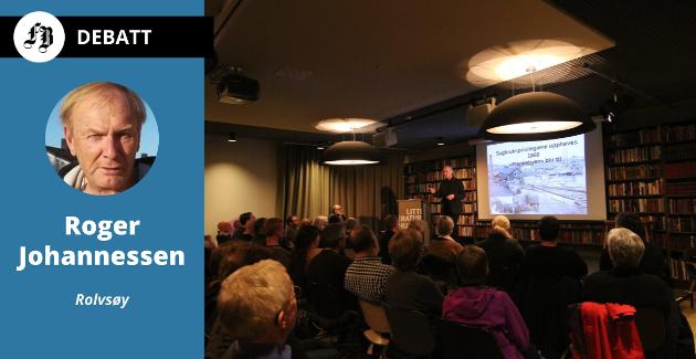 Roger Johannessen mener det er nødvendig å lage konkrete retningslinjer for hva medvirkning skal innebære i praksis. Illustrasjonsbilde fra folkemøte om Holmen på Litteraturhuset, januar  2017.