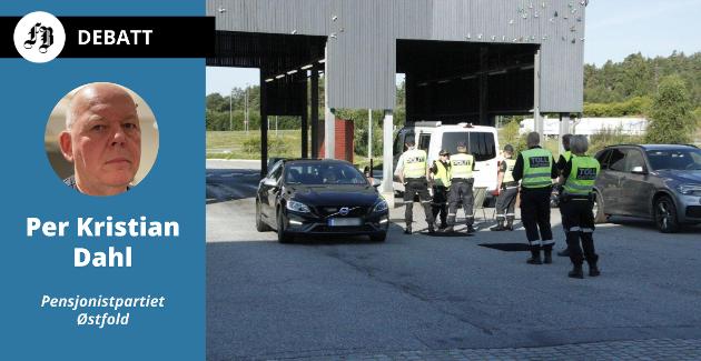 Tollere og politi på riksgrensen, Svinesund
