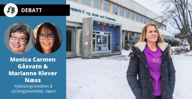 Kristine Grøstad Tangen jobber for korona-taperne i videregående skole, og er meget bekymret for det hun ser. Det er en oppfatning brevforfatterne Gåsvatn og Klever Næss deler.