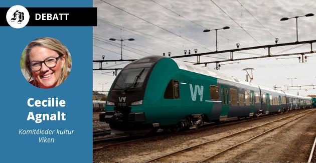– Østfold trenger god jernbane som kjører mennesker gjennom byene våre, og til storbyene.