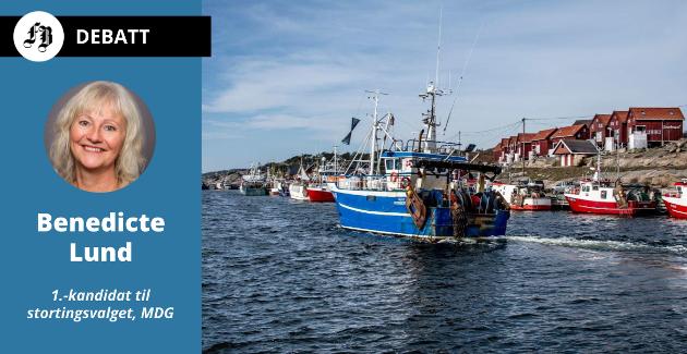 Benedicte Lund (MDG) ønsker å redde torsken ved å forby bunntråling. Hun mener enkelte fisker må få hjelp til å omstille til bærekraftige fangstmetoder.