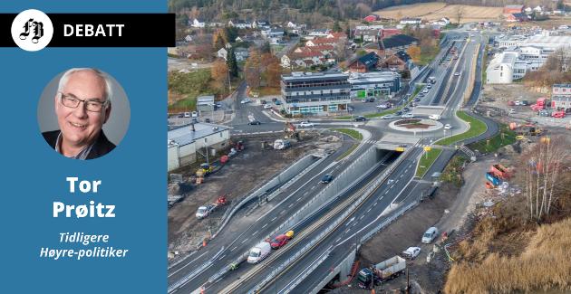 – Det eneste som er oppnådd gjennom behandling av minst fire nasjonale transportplaner er 1,2 kilometer firefelts vei på RV 110 fra Ørebekk i retning Fredrikstad sentrum.
