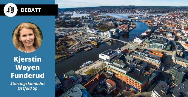 – Senterpartiet ønsker å øke de skattesvake kommunenes mulighet til å utjevne sosiale forskjeller, skriver Kjerstin Wøyen Funderud.