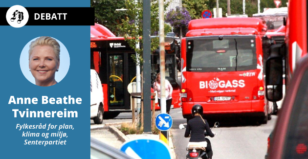 – I fjor innførte nemlig regjeringen en helt ny veibruksavgift på flytende biodrivstoff, forklarer Tvinnereim om avgiften som etter hennes mening virker mot sin hensikt.