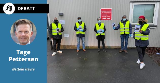 Frivilligere fra det somaliske miljøet driver fra før av informasjonsvirksomhet i samarbeid med Fredrikstad kommune, se lenke nede i saken..