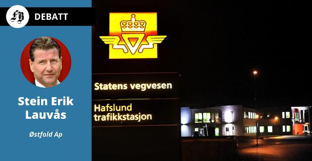 Stein Erik Lauvås mener det blir langt mellom trafikkstasjonene.