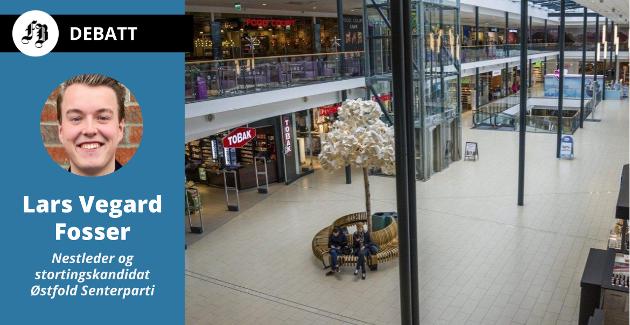 Lars Vegard Fosser slår fast at tomme svenske kjøpesentre er et koronafenomen. Så lenge de norske avgiftene ikke blir redusert,  vil grensehandelen ta seg opp så snart grensen åpnes.