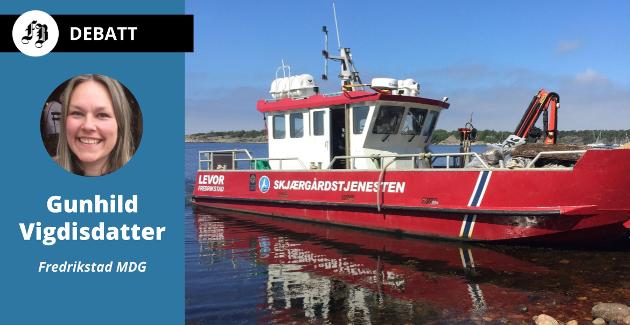 – Skjærgårdstjenesten Fredrikstads måte å organisere og utøve sine oppgaver på fungerer veldig bra, men det er allikevel begrenset hva de rekker over med to menn og én båt.