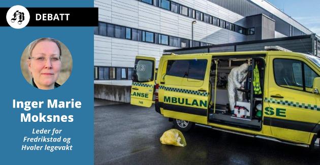 Ambulansenr blir styrt fraakuttmedisinsk kommunikasjonssentral i Oslo, opplyser Moksnes.