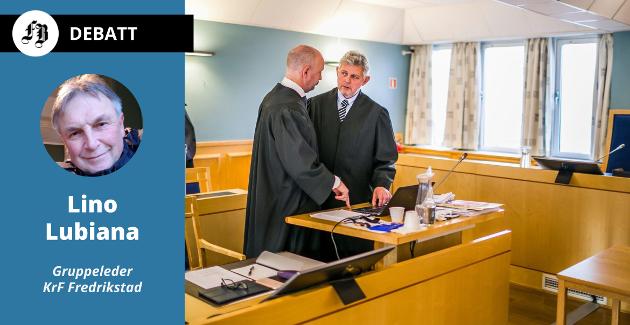Advokatene Hans-Are Nyheim (til høyre) og Einar Brunes har representert motparten i sakene som endte med at Høyesterett ga barnehageeierne medhold i at Fredrikstad kommune beregnet feil driftstilskudd.