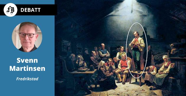 Svenn Martinsen ønsker en kunstnerisk installasjon laget med avansert 3D grafikk, Hans Nielsen Hauge i en naturtro skulpturutførelse som likner eksakt på han som står på stolen i maleriet «Haugianerne» av Adolph Tidemann.