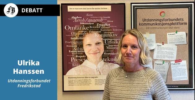 – Lærerne i barnehager og skoler har svært høye forventninger til årets oppgjør, opplyser Ulrika Hanssen.