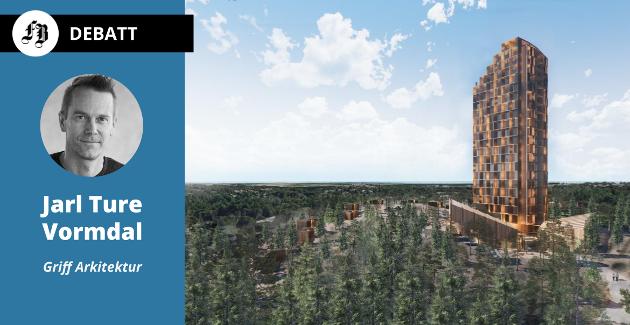 – Hvis et bygg skal synes i det åpne Hvaler-landskapet slik vi har skissert, så må det settes de høyeste krav til utforming og arkitektur. Vi mener absolutt ikke at våre foreløpige illustrasjoner nødvendigvis svarer opp disse ambisjonene.