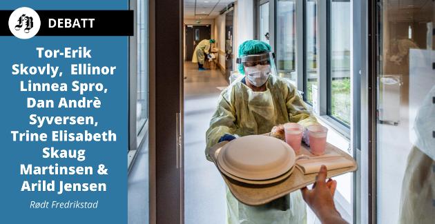 – Koronapandemien viser oss verdien av et sterkt felles velferdssamfunn og alle som jobber der.