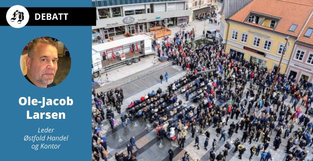 Stortorvet i Fredrikstad har opp gjennom årene samlet tusener på 1. mai. Siden 1890 har dette vært arbeidernes internasjonale kampdag.