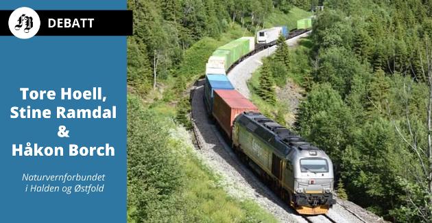 Naturvernforbundet i Halden og Østfold mener at tida er inne for en egen norsk godskorridor med minimumshastighet på 100 km/t på Østfoldbanen over grensen til Sverige og Europa.