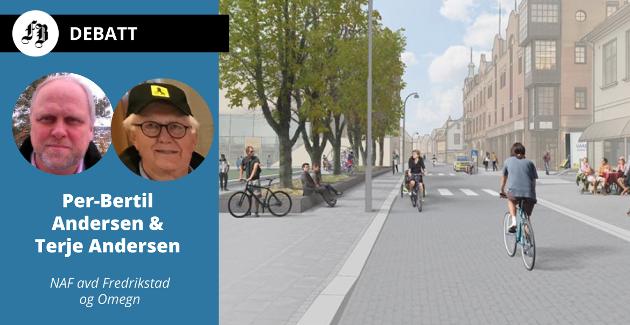 NAF støtter planen om sykkelfelt i Storgata. – Derfra når man alle sentrale deler av sentrum på myke trafikkanters premisser via  Stortorget, heter det i innlegget.