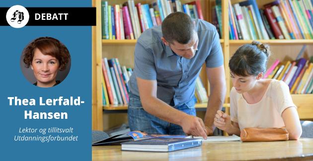 – Er vi heldige, får vi også være betydningsfulle for elevene. Vi ser at vi ved flere tilfeller blir såpass betydningsfulle at vi får tildelt flere roller; vi blir samtalepartnere, hobbypsykologer, veiledere og diplomater.